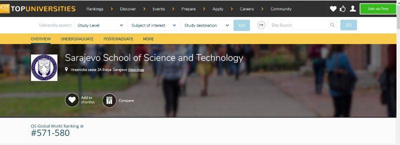 World Top Engineering Universities Food Science Technology 2019