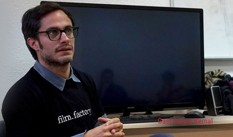 Gael Garcia Bernal in lecture